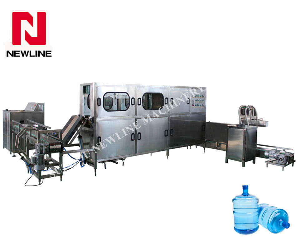 Gallon water filling machine