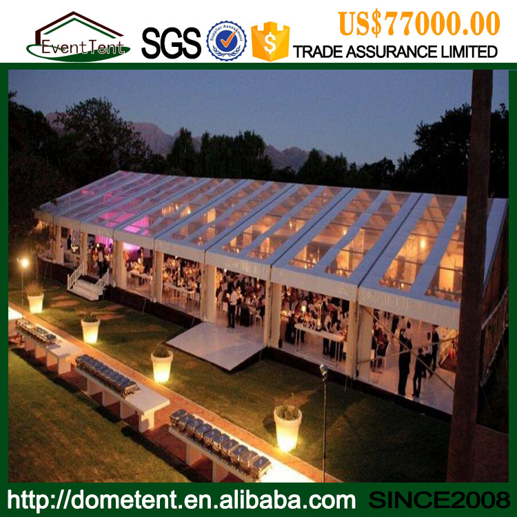 High Quality Outdoor Party Tent Luxury Clear Roof 20x30 Wedding Tent For Sale