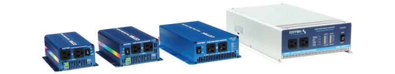 Cotek pure sine wave inverter S 150w 300w 500w 600w 1000w 1500w