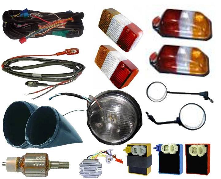 Auto Electrical Parts and Auto Light Systems