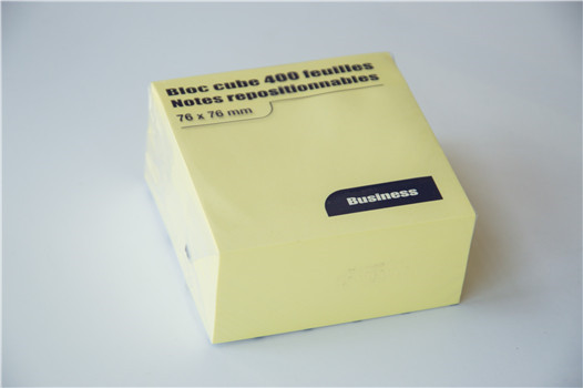 Common 3 inches yellow sticky notes