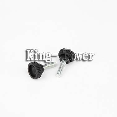plastic knurled head thumb screw