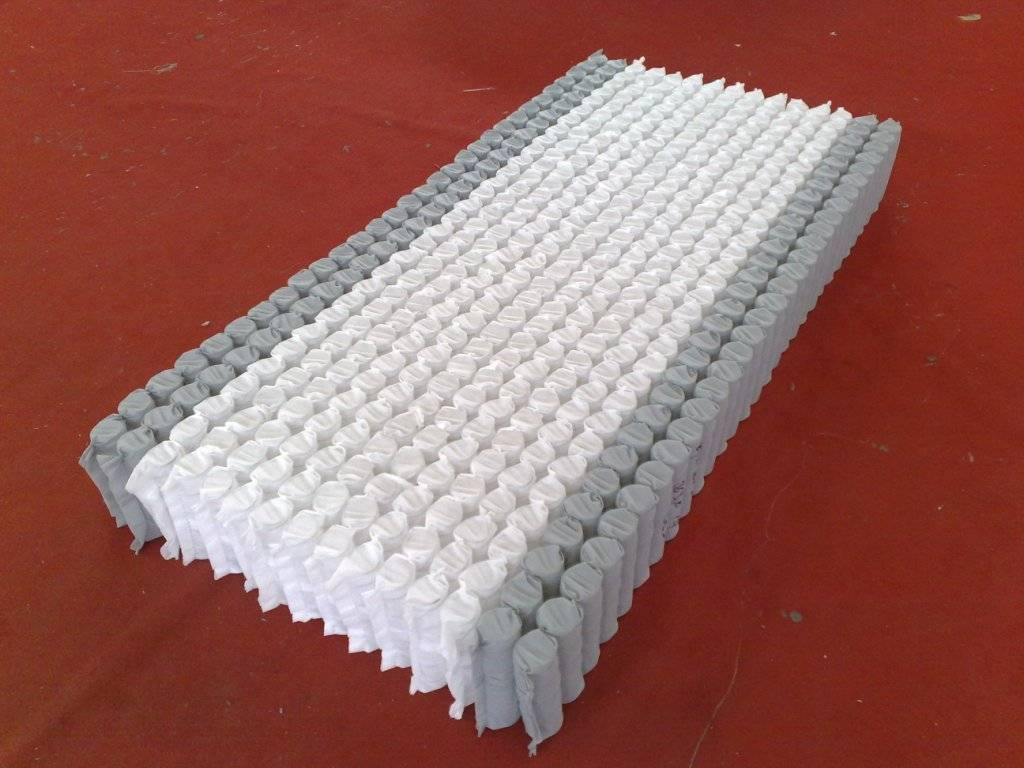 Queen Size Pocket Springs Units with stronger edge
