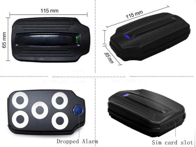 4G TK209A Long battery life GPS Tracker with 5000mAh