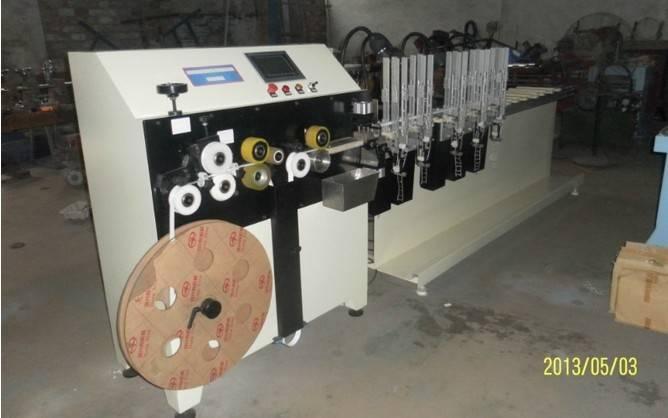 Aluminum venetian blind fully-automatic making machine