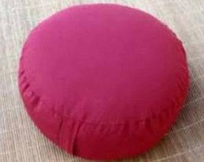 round yoga pillow/bolsters