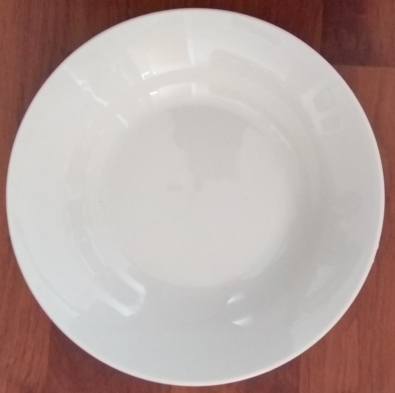 9 inches porcelain soup plate