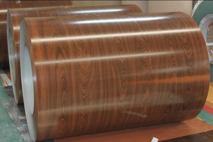 wooden color PPGI/prepainted galvanized steel coil