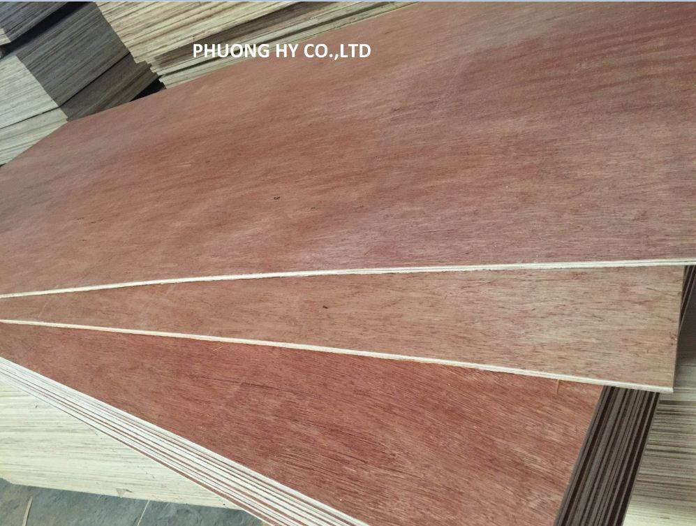 Plywood for packing, furniture and Construction