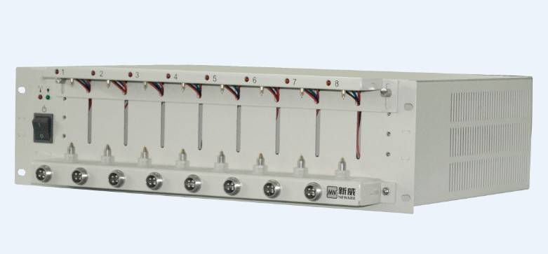 Lithium battery testing equipment 5V6A for 18650 battery and polymer battery