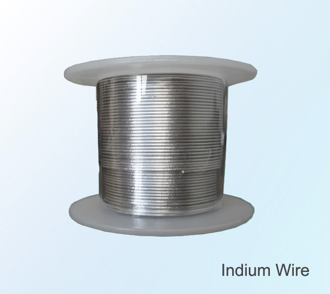 factory price indium wire indium 99.99% 4n for sale
