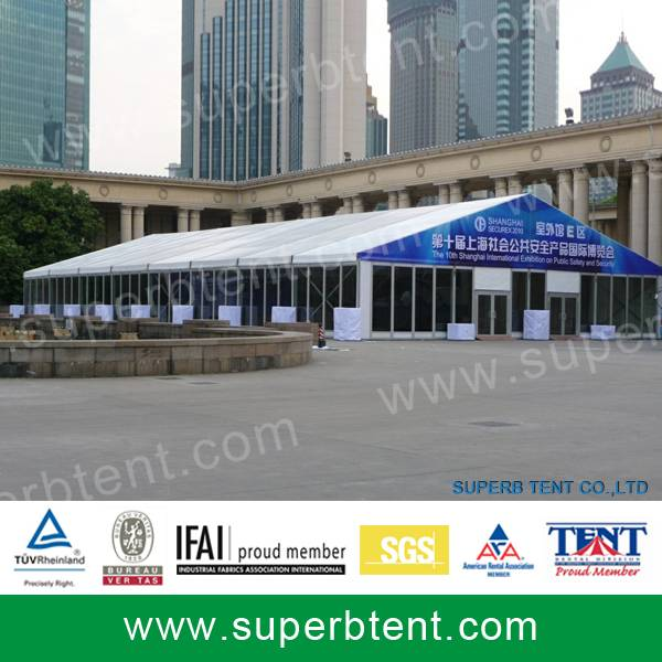 Advertising tent for many years used and rent