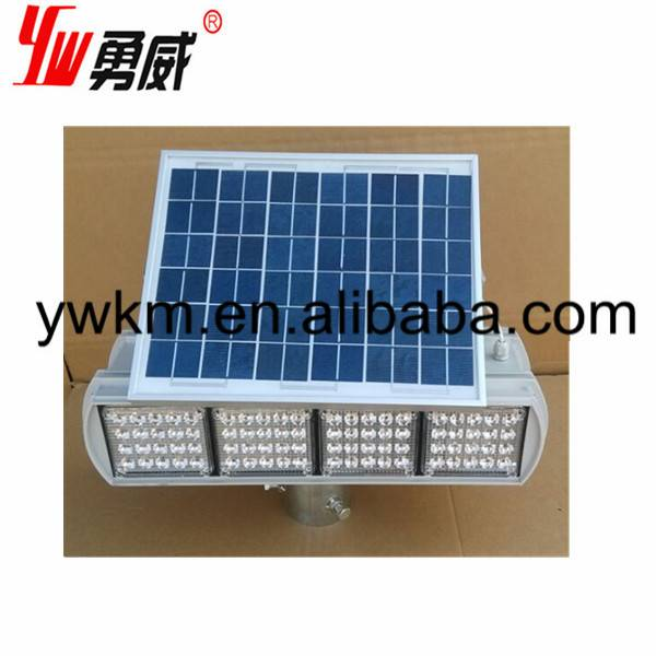 DC12V 10W red blue color double sides solar traffic light