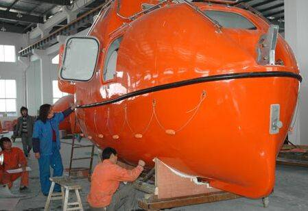 ABS approved enclosed lifeboat/Rescue boat for ship