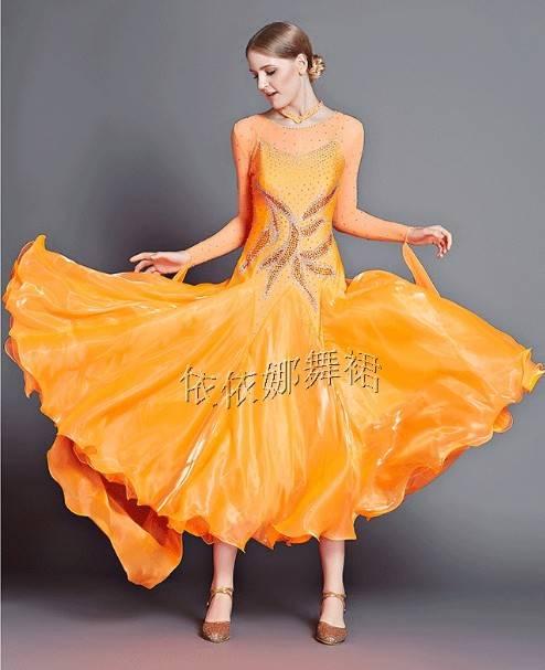 Custom-Made Custom-Made Ballroom Dance Dress Ballroom Dancewear Ballroom Dance Custome Ballgown