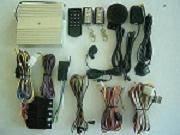 GSM car alarm system with start engine fanction