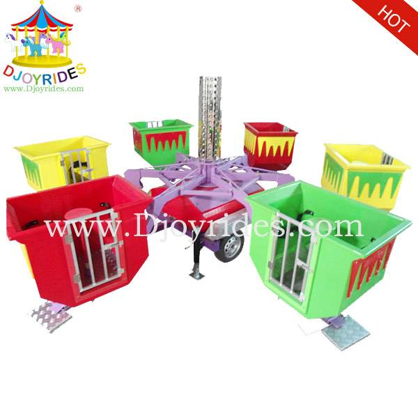 Portable Amusement Park Rides Funny Tubs with Trailer