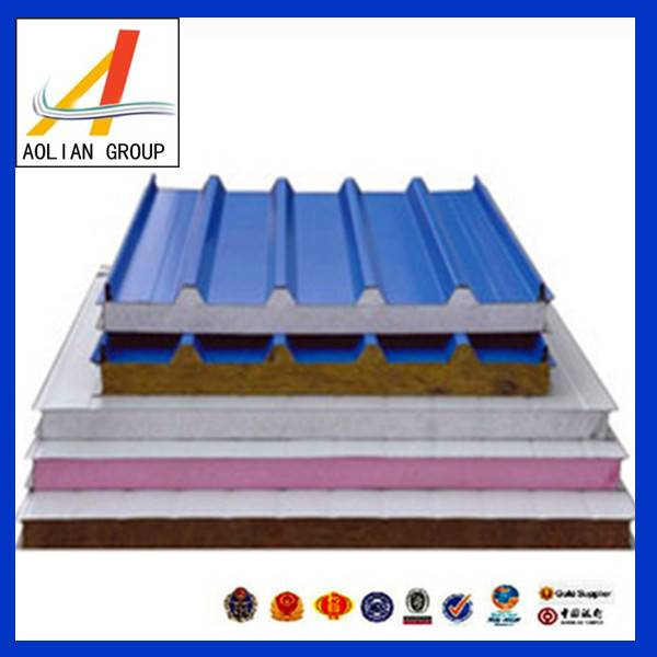 Best fireproof PU sandwich panel