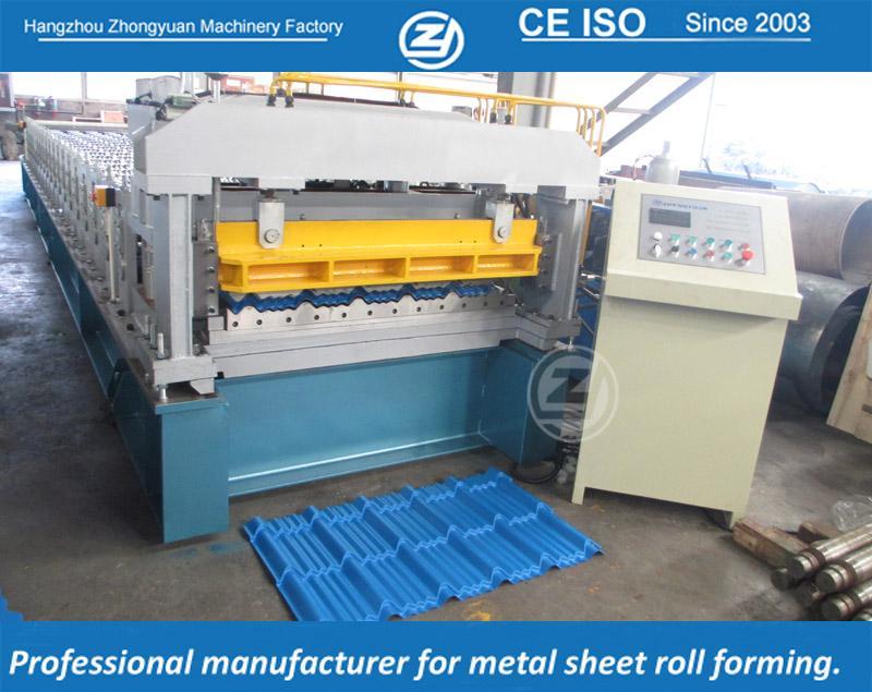 MetalGlazedTileFormingMachine