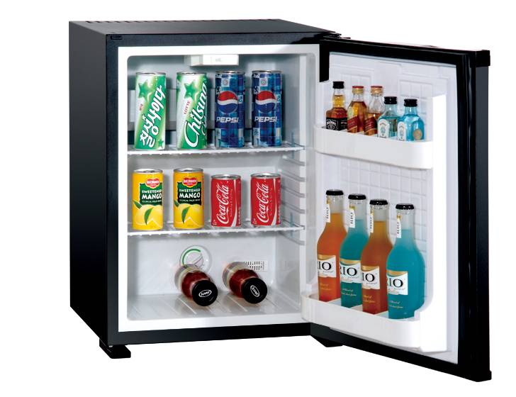 Compact Hotel Mini Bar Refrigerator Auto Defroster High Quality Commercial Freezer