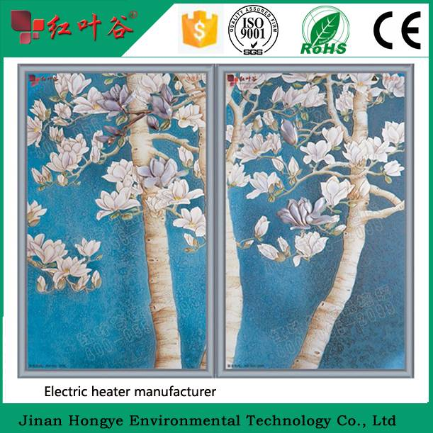 CE approved wall mounted infrared heating panel