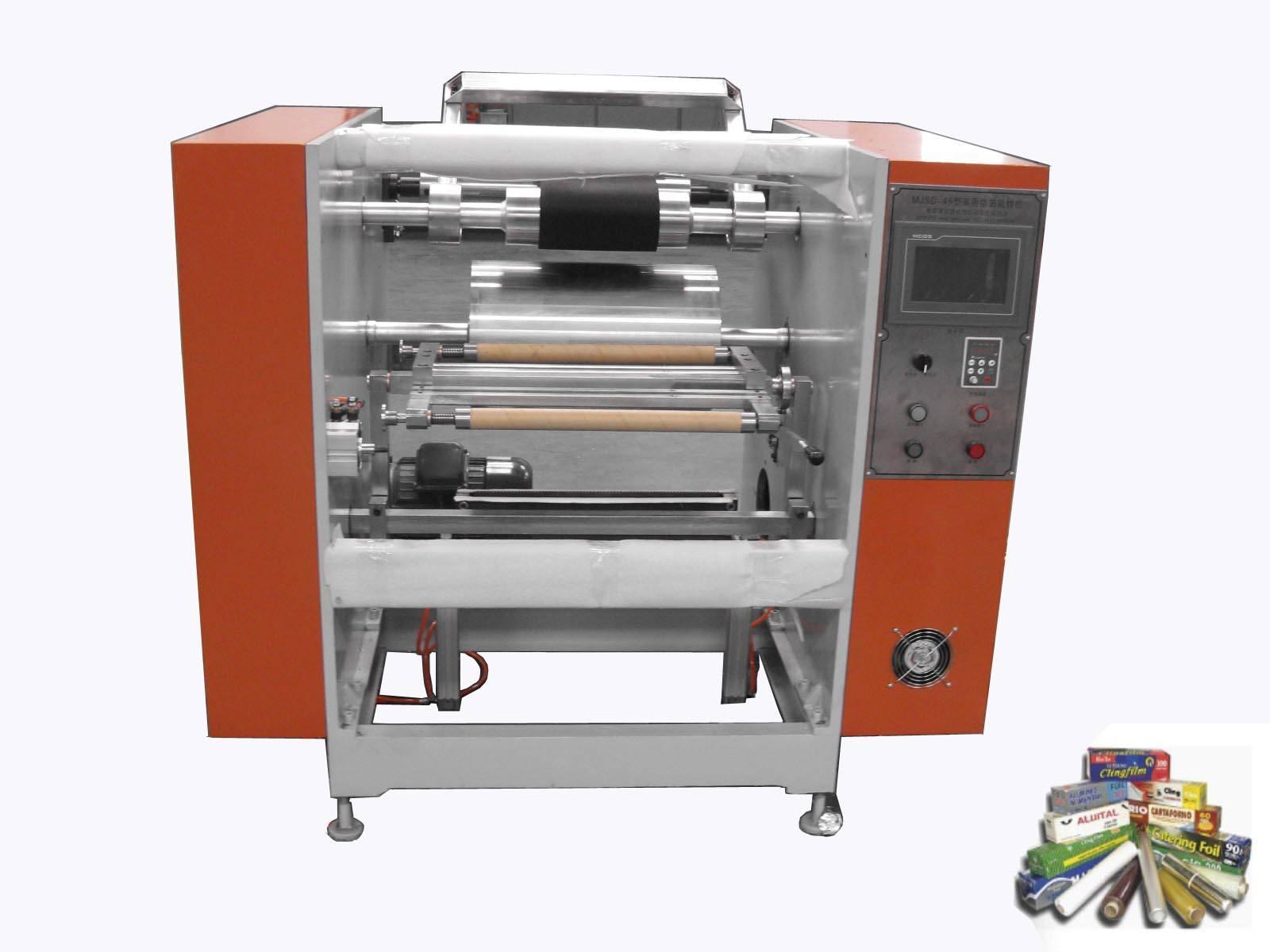 Aluminum Kitchen Foil Roll Manual Rewinding Machine