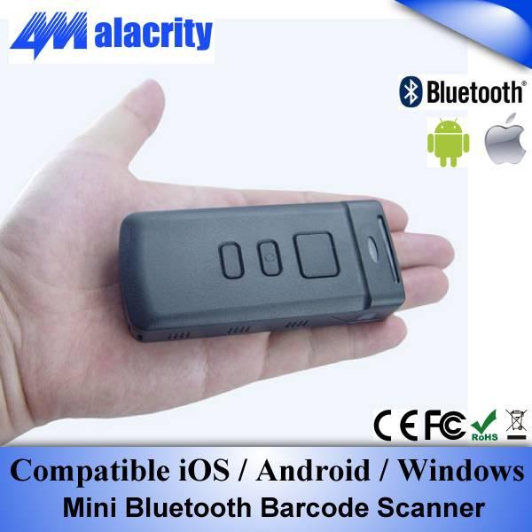 Mini Bluetooth Barcode Scanner For iphone ipad Samsung