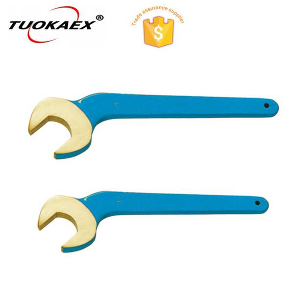 non sparking bent open end wrench