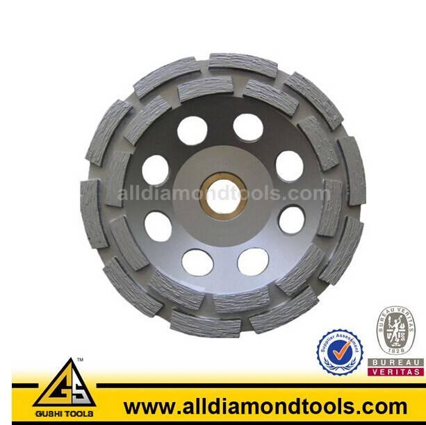 En13236 Double Row Metal Bond Floor Concrete Diamond Grinding Tool
