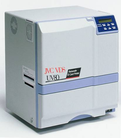 UV80 Retransfer card printer
