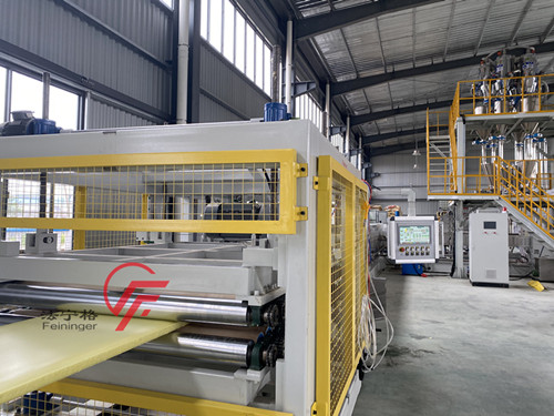 Automatic XPS Extrusion Line, XPS polystyrene extruder