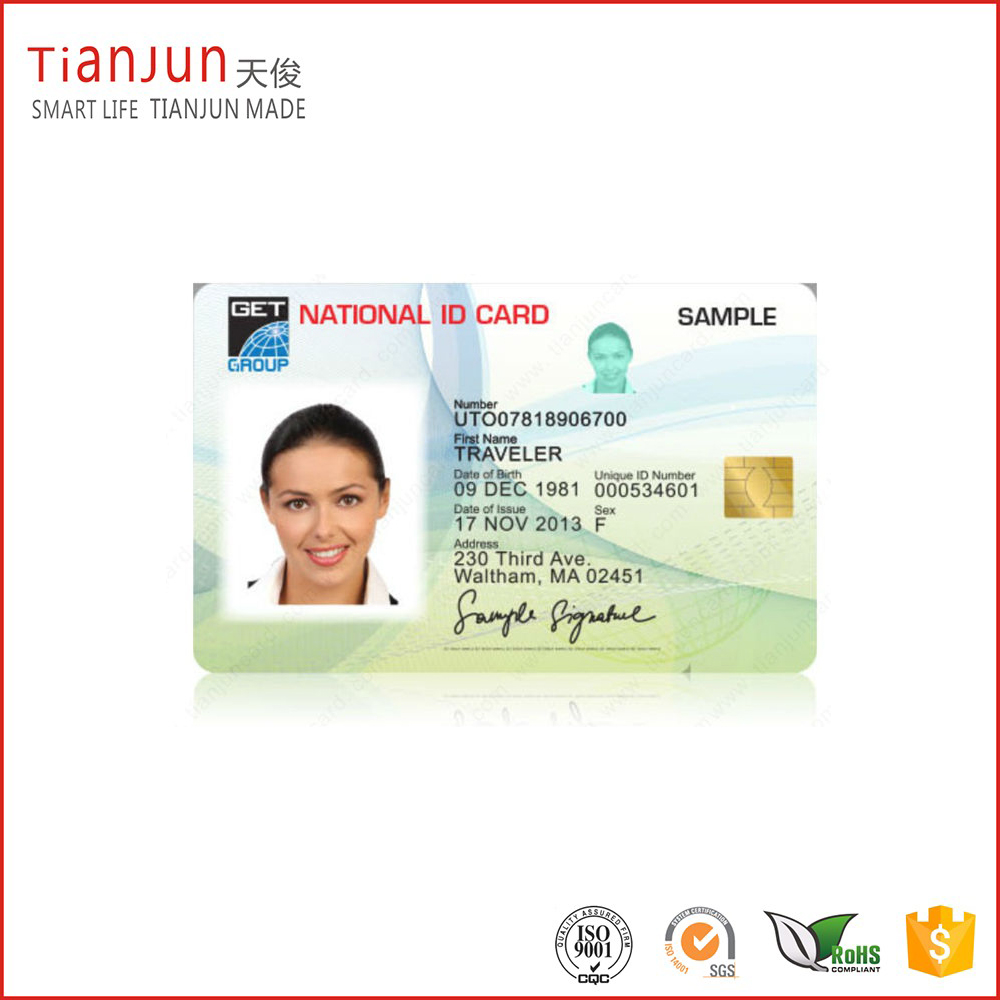 Full Color Printing PVC Student ID Card