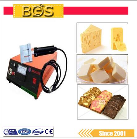 BDS handheld Ultrasonic camembert food / fabic cutting machine cutter knife