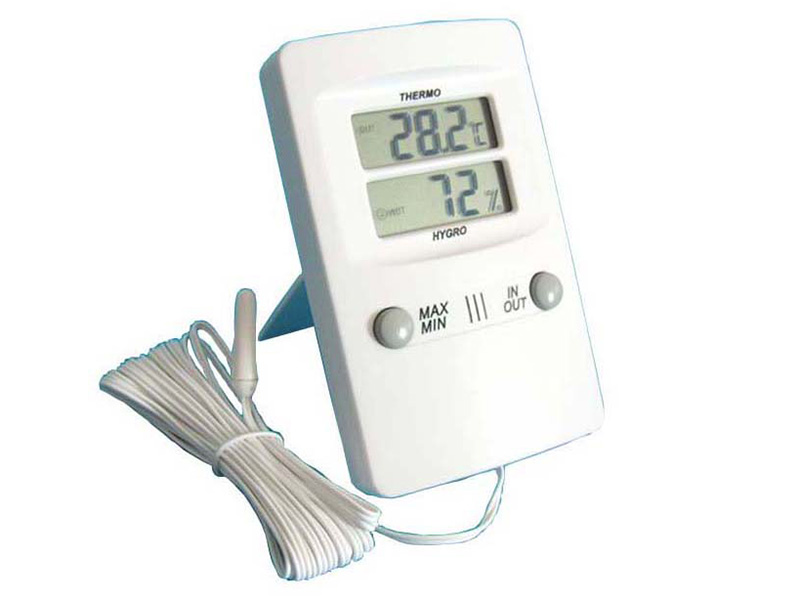 TH02 Digital in-outdoor Thermometer and Hygrometer