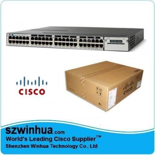 Cisco 3750X WS-C3750X-24P-S 3750X 24 Port PoE IP Base Switch