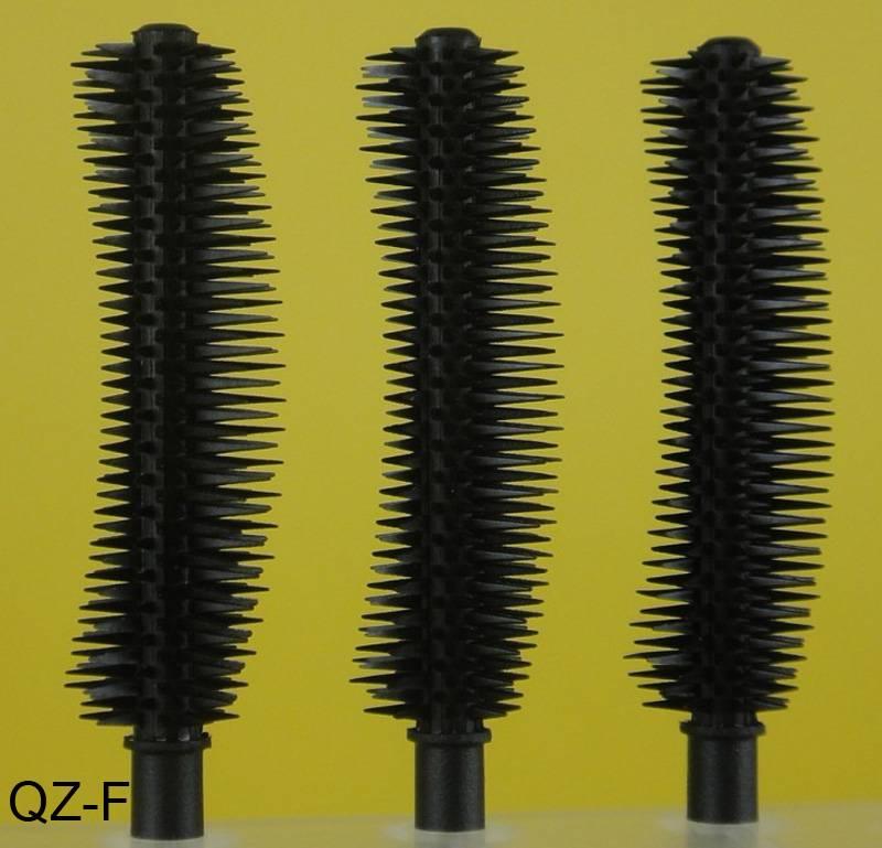 Silicone Plastic Nylon Fiber Fales Fake Eyelash Eyebrow Eyeliner Mascara Brush Tube Box QZ-F