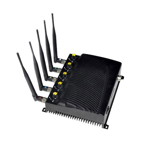 Adjustable Cell phone GPS WiFi jammer - US