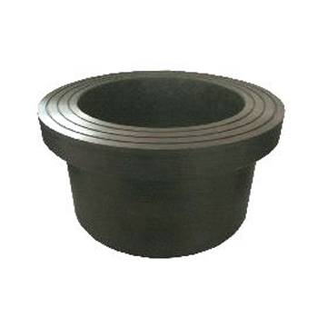 Butt weld stub end pipe fitting