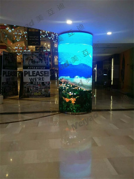 Creative Customized LED Display Panel P4 Flexible Module With Soft Mask Patent