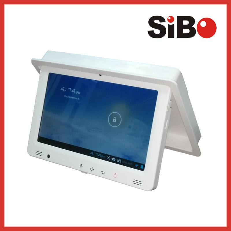 "9"" Inwall Flush Mount Android Tablets RJ45 PoE WiFi with Thermal Printer"