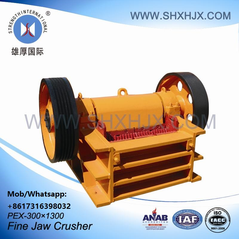Stone PEX Series Fine Jaw Crusher For Ores