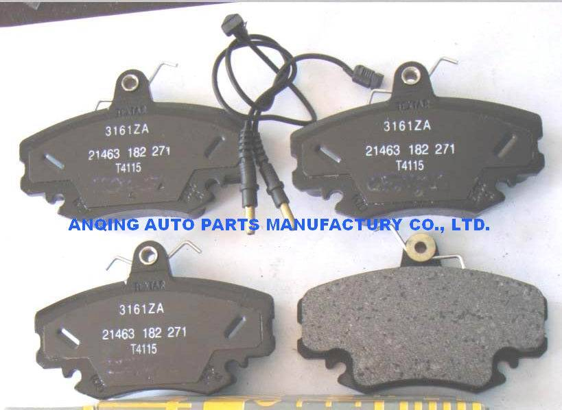 brake pad 7701208265 for Renault Dacia