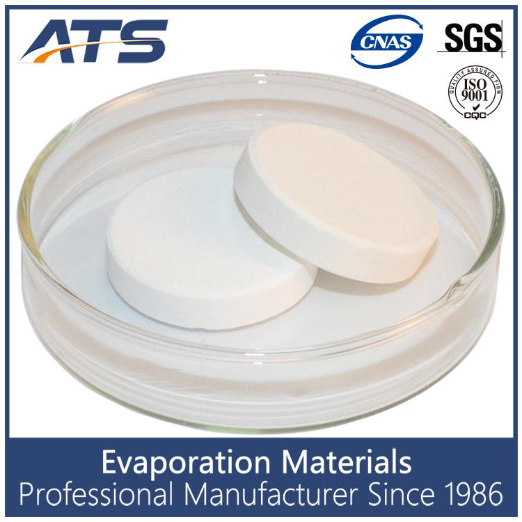 99.99% ZrO2 Zirconium dioxide sinter tablet