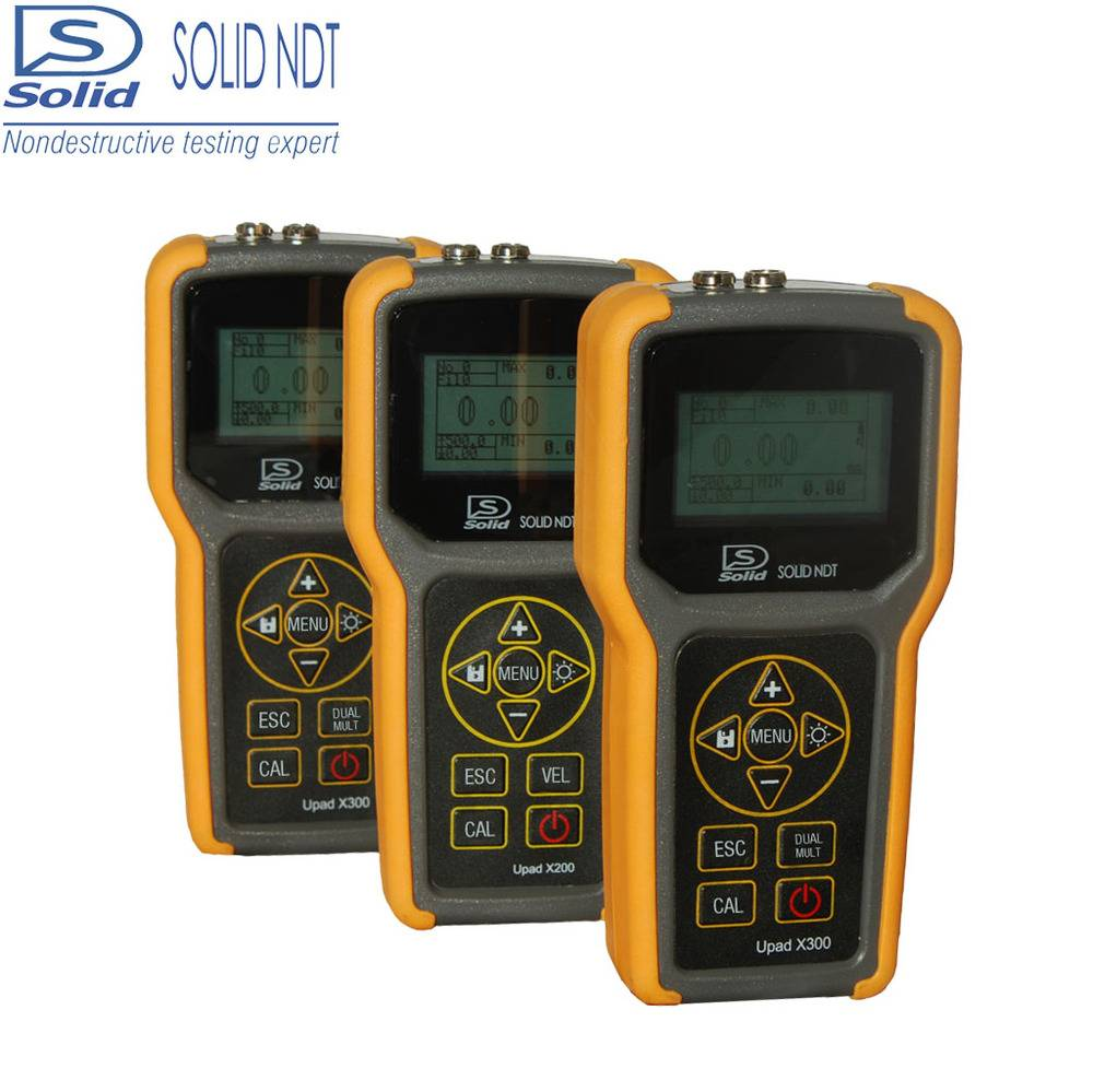 Solid ultrasonic digital thickness gauge