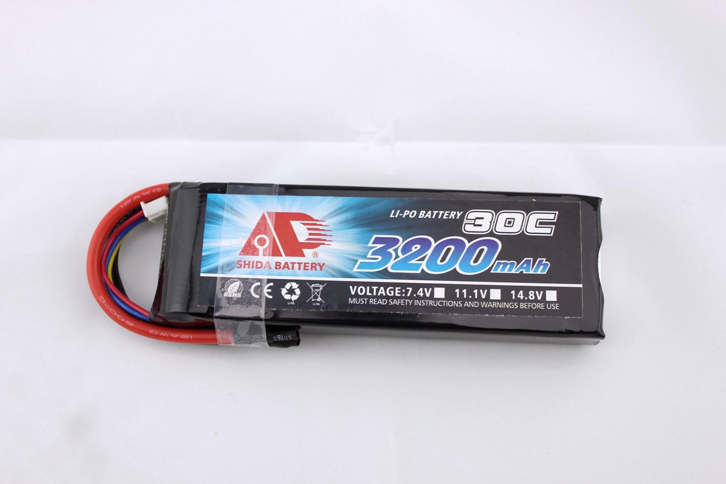china supplier 3200mAh 30C 11.1V lipo battery for airplane