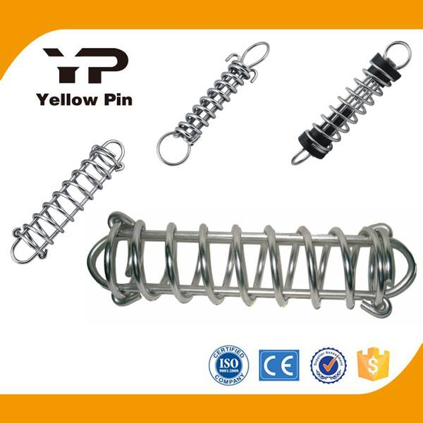 Mooring Spring with silent or without silent, steel with HDG surface or Stainess steel 316