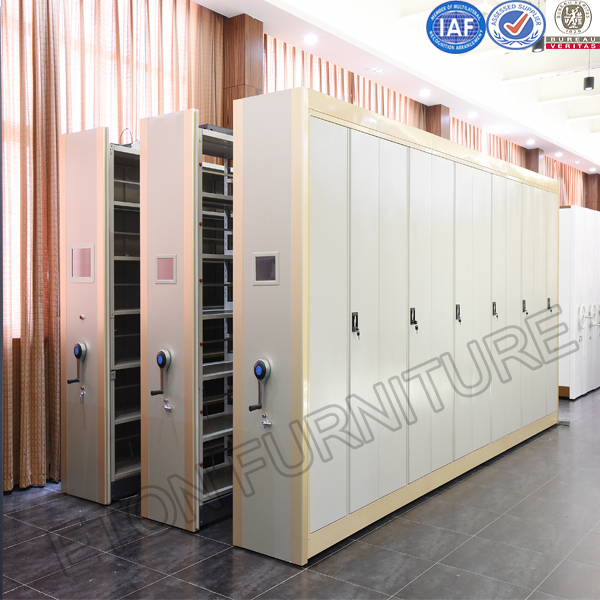 Yiteng Office Furniture Tenglong Steel Documetal Storage Shelving for Library Use