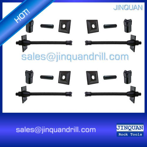 Self drilling anchor bolt