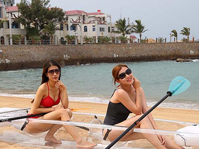 Transparent Rowing Boat