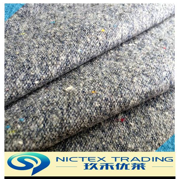 blended woven woolen polyester wool stretch fabric supplier from China